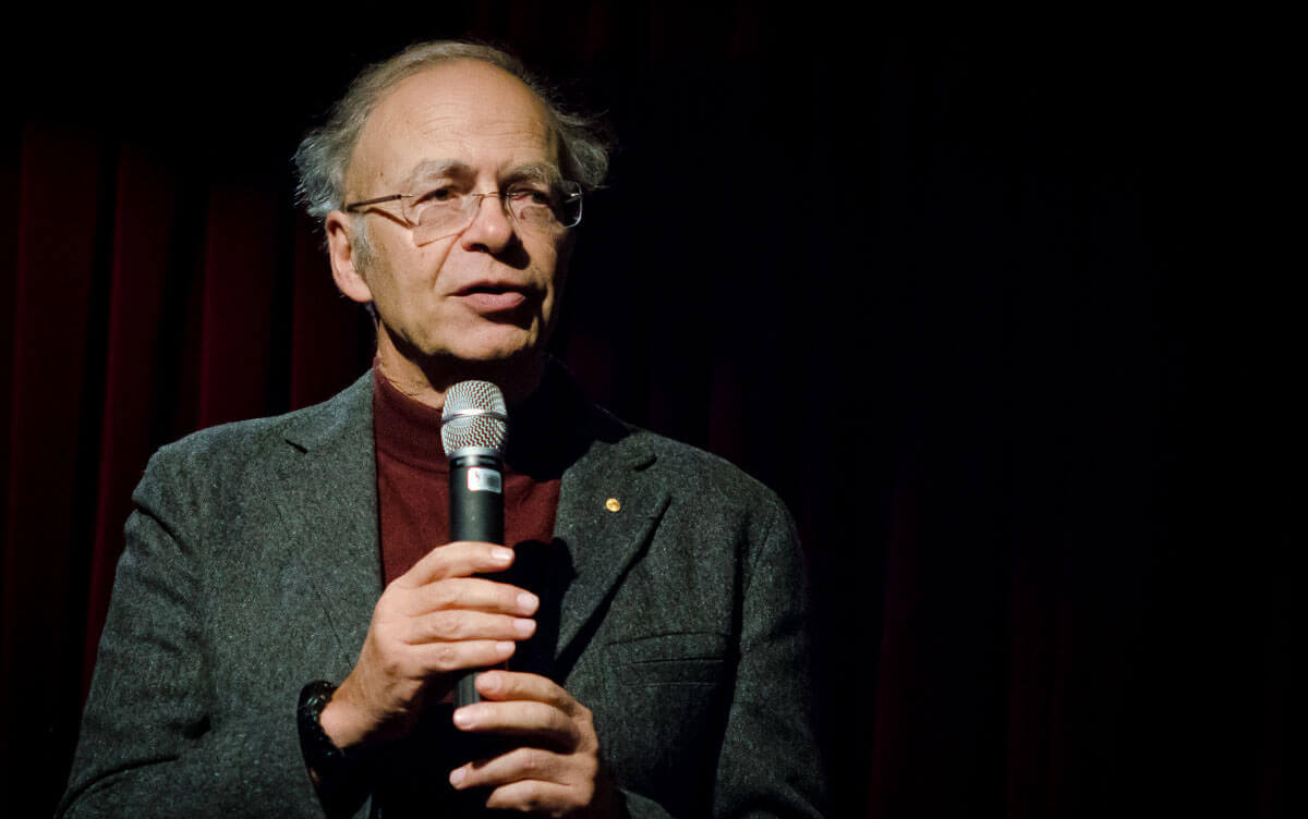 happy birthday peter singer animal charity evaluators my first introduction to peter singer was during a philosophy course i took my freshman year at the university of southern california