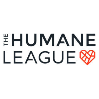 The Humane League mended heart logo