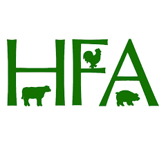 Humane Farming Association (HFA) Logo